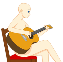 The Guitarist by yotoll