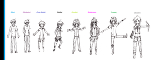 My Own Minecraft Mob Talker Characters by ShadowVenom718