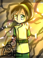 Toph Bei Fong by little-space-ace