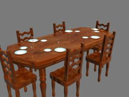 Table for Six by Intangibull