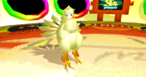 MMD Chocobo Len + DL by Valforwing