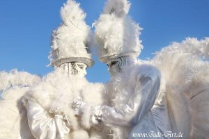 Venice Carnival - White Angels by NataliaLeFay