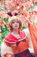 Flareon by Ally-bee