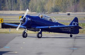 North American SNJ-5 Taxi by shelbs2