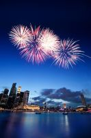Happy Birthday Singapore by waiaung