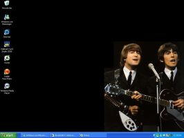 The Beatles Desktop by maxwellsilverhammer