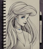 Portrait of Ariel by natalico
