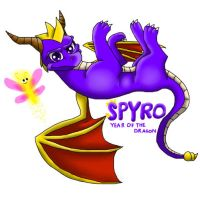 Spyro year of the dragon by Kyuubi83256