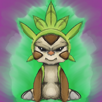 Pokemon - Chespin by dragonfire53511
