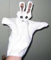 White Rabbit by puppetry