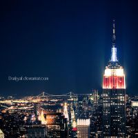 New York - Empire State by DarkSaiF