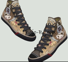 Piratess Sneakers by Bojo-Bijoux