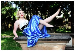 1920s pin up mix inspired by LaurenBabe23