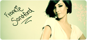 Frankie Sandford Signature by mywonderart