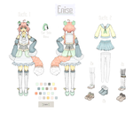 OC - Enise by bubotea