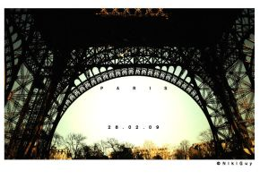 The Eiffel Tower Paris by nik89