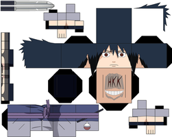 sasuke by hollowkingking