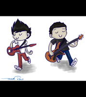 Musey Guitarists by katribou