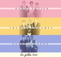 The Golden Trios. by PotterGleeker