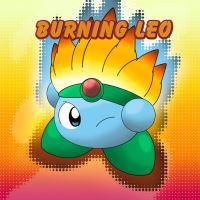 Kirby: Burning Leo by LioSKETCH