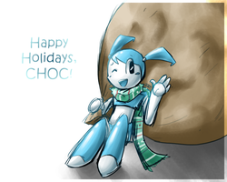Happy Holidays - CHOC by Timidemerald