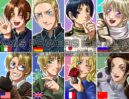 Axis Powers Hetalia by RoseNightshade
