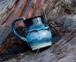 Shiny Blue Mug by Frost-indri