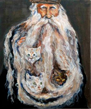 Louis Coulon the Cat Man by FeintRuled
