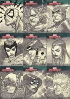 Marvel Masterpieces III Set 3 by jeffwamester
