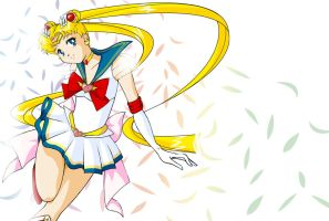 Pretty Sailor Moon by Yanina