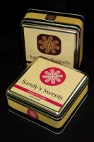 Sandys Sweets packaging by daethington
