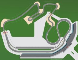 Road Course Racetrack by atomik99