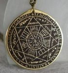 Sigil of Seven Archangels Solomon kabbalah amulet by TimforShade