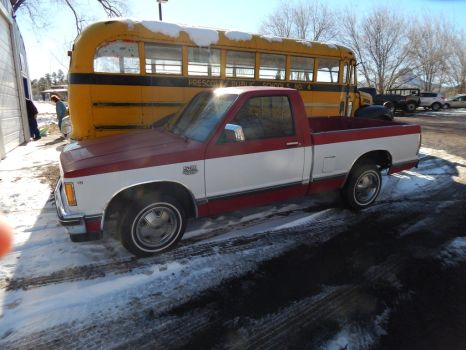1982 Chevrolet S10 Tahoe Regular Cab by TheHunteroftheUndead