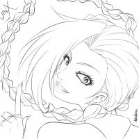 Jinx - Outline by Dweynie