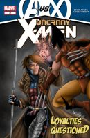Gambit vs Wolverine 2012 by Art-Of-Nathan-Wright