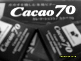 Cacao 70 chocolate by bixth