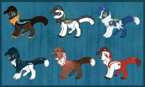 CollieADOPTS_SET1_1LEFT! by DuskPawz