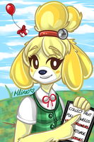 Isabelle/Shizuo by Chao-Illustrations