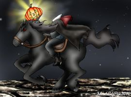 The Headless Horseman by MandiPope