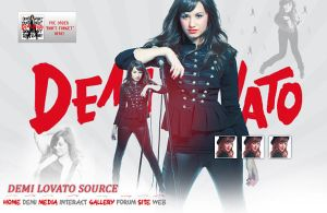 Demi Lovato Layout by mikeygraphics