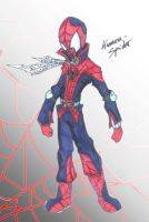spider man as kamen rider by seasonsofthereaper