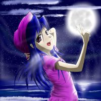 Moonlight girl by Animeculture