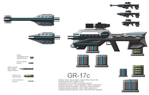 GR-17c Advanced Gauss Rifle by CommandoN