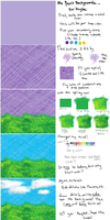 MS Paint Background Tutorial by Mutationification