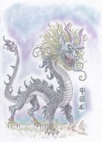 Chinese Dragon by kanineious