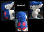 Cyndaquil Crochetting by Ranger-LCat