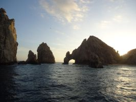 that arch in cabo by chronitonic