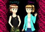 APH OC: Mazury and Agnes by Agnes675