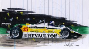 Renault RE30B by klem